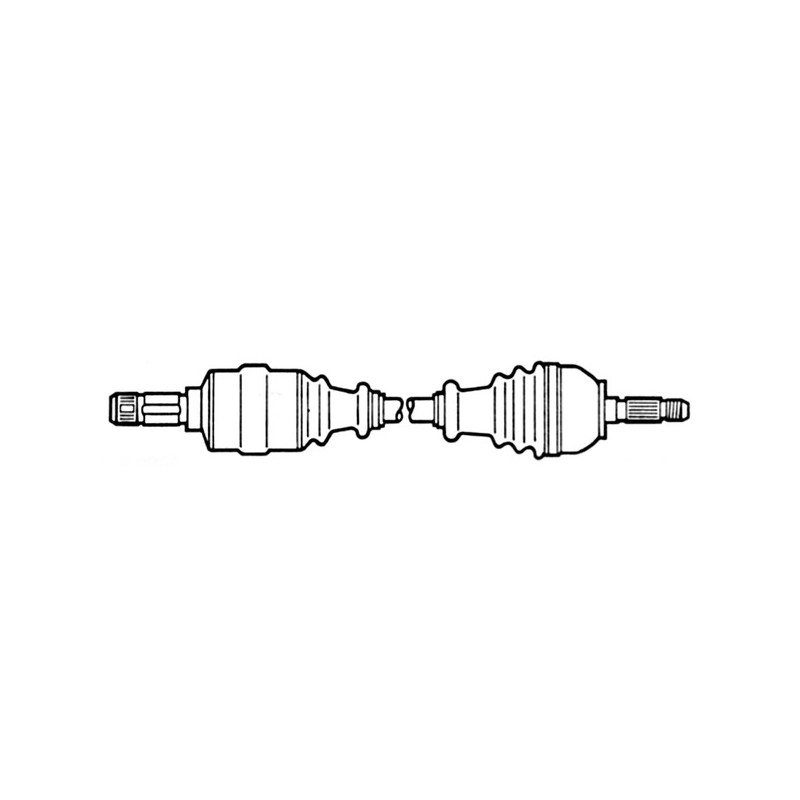 Arbre de transmission CEVAM [5144]