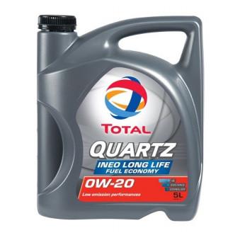 Huile moteur QUARTZ INEO LONG LIFE 0W20 - 5 Litres TOTAL E233D9